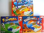 TOYRIFIC Games - MINI FOOTBALL - BASKETBALL - BOWLING (Ten-Pin) {GM}