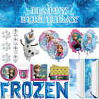 Disney's FROZEN Snow Queen Party Tableware Balloons Decorations 1 Listing PS