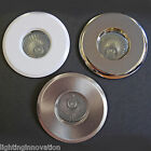 4 X IP65 RECESSED GU10 240v BATHROOM SHOWER SPOT LIGHT DOWNLIGHT CHROME WHITE