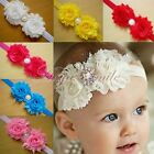 10PCS Kids Baby Girls Toddlers Infant Flower Headband Hair Bow Band Accessories