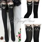 Totoro Cat Bear Over Knee Tights Thigh Socks Pants Leggings Pantyhose 3 Style US