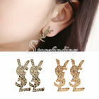 Fashion Women's Shinning Rhinestone Crystal Earrings Ear Studs for Ladies