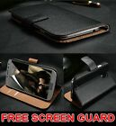 Real Genuine Wallet For Samsung Galaxy S8 S9 S7 S10 J3 J5 A3 A5 A40 A50 A70