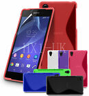 S LINE WAVE GEL CASE COVER FOR SONY XPERIA Z2 & SCREEN PROTECTOR