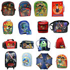 Boys Character Bags | Backpacks Rucksacks Trolleys Wallets Swimbags & Lunch |NEW