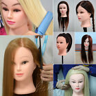 Super Thick 100% 90% 85% Real Human Hair Hairdressing Training Head Mannequin