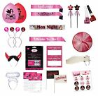 HEN NIGHT - GOOD GIRL/BAD GIRL Party Items - Large Range(Balloons/Banners/Games)