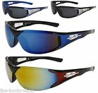 SPORTS SUNGLASSES DESIGNER MENS WOMENS GIRLS BOYS NEW BLACK LARGE WRAP UV400 103