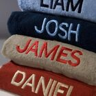 Personalised Hand Towels - Embroidered with Any Name - Various Colours Available