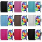 For Samsung Galaxy S5 Leather Magnetic Wallet Card Holder Cover