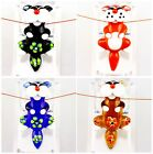 A3991 Multi-Color Glass lampwork Cat Pendant Bead