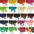 30g Approx 750pcs Rondelle Wood Wooden Dyed Charm Loose Beads Center Drill 3x6mm