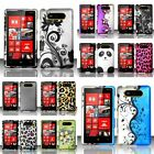 For Nokia Lumia 820 Rubberized Hard Design Case Cover