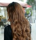 Clip In Hair Extensions Weft Long Wavy  As good as human hair Ponytail Curly