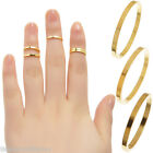 50PCs Ring Gold Plated Round M2603