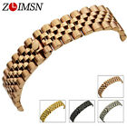 13mm 20mm New Soild Stainless Steel Watch Band Bracelets Curved end Used for Rol