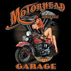 MOTORHEAD GARAGE MADE IN THE USA V TWIN BIKER SLEEVELESS T SHIRT