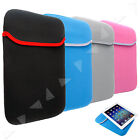 """8""""/10"""" Carrying Sleeve Neoprene Cover Bag Case For Android Pad Tablet Kindle"""