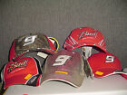 AS IS Kasey Kahne hat cap #9 Budweiser NASCAR Racing Camo Adj Mens Sz red Dodge