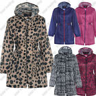 Womens Ladies Printed Cagoul Rain Coat  Kagool Kag Cagool Kagoul fashion print
