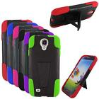 Phone Case For Samsung Galaxy S4 4g LTE Prepaid Smartphone Rugged Cover Stand