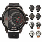 Shark OVERSIZED Dual Movement 6 Hands Quartz Men Watch With Upgrade Gift Box