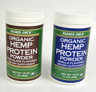 Trader Joes Organic Hemp Protein Powder Vanilla Or Chocolate 16 Oz Dietary