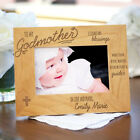 Personalized To My Godparents Picture Frame Engraved Photo Frame for Godparents