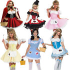 Ladies Fairytale Storybook Character Nursery Rhyme Fancy Dress Costume Outfit