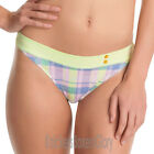 Freya Lingerie Totally Tartan Thong/Knickers Zest 1427 NEW Select Size