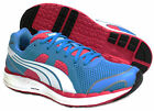 Puma Faas 550 NM Womens Girls Ladies Running Blue Lace Up Trainers (186269 04)
