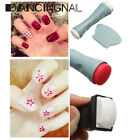 Nail Art Double Ended Polish Stamp Stamping Stamper Plate Scraper Manicure Sets