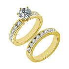 1.5 Carat G-H SI3-I1 Diamond Engagement Wedding Solitaire Ring 14K Yellow Gold