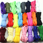 Flat Athletic Canvas Extra Long Unisex Shoe Laces Accessory Shoelaces 24 Color