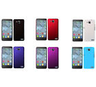 Hard Rubberized Matte Snap-On Slim Cover Case for Alcatel One Touch Idol S /6034
