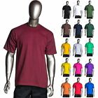 Pro Club - Heavyweight Short-Sleeve Tee Crew Neck Plain T-Shirts - Single (1pc)