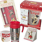 Boofle Pup Teacher Assistant or Graduation Gift Gifts Pen Keyring Tankard Mug