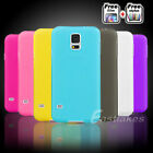 Soft Gel TPU Silicone Matte Skin Case Cover for Samsung Galaxy S5 4G G900I G900F