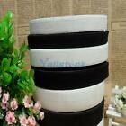11-13m Latex Rubber ELASTIC STRETCH RIBBON Thickened White/Black 15/20/25/30mm