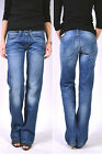 PEPE Jeans OLYMPIA L15 Mid Blue Comfort Denim - Relaxed Jeans NEW