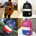 K-POP EXO XOXO Schoolbag Satchel Backpack Student Book Bag Unisex New Chanyeol