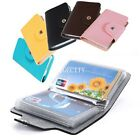 24 Cards Pu Leather Credit ID Business Card Holder Pocket Wallet Case Hot