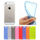 New Matte Crystal TPU Soft Silicone Case Cover For Apple Iphone 5 5S Dust-proof