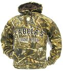 Cabela's Men's Heavyweight 420g Mossy Oak RealTree MAX4 Waterfowl SNOW HoodieHoodies & Sweatshirts - 177871