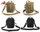 CALDERAGEAR Airsoft Military Cordura Tactical Molle Shoulder Pouch Bag 2 Colors