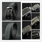 Automatic Buckle Belt Waistband Genuine Leather Belt Buckle For Business Men W