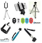 4 in 1 Selfie Stick & Bluetooth Remote Monopod for Samsung Galaxy S2 S3 S4 S5