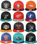 New Era 9FIFTY - Word Back Team Collection - MLB NBA NFL NHL Hat / Cap Snapback