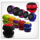3.5mm MP3 PLAYER /TF PORTABLE RECHARGEABLE CAPSULE SPEAKER FOR FOR LATEST PHONES