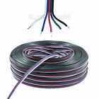 5m to 100M 5p 5Cores Extension Wire Cable Cord Line for RGBw RGB CW WW LED Strip